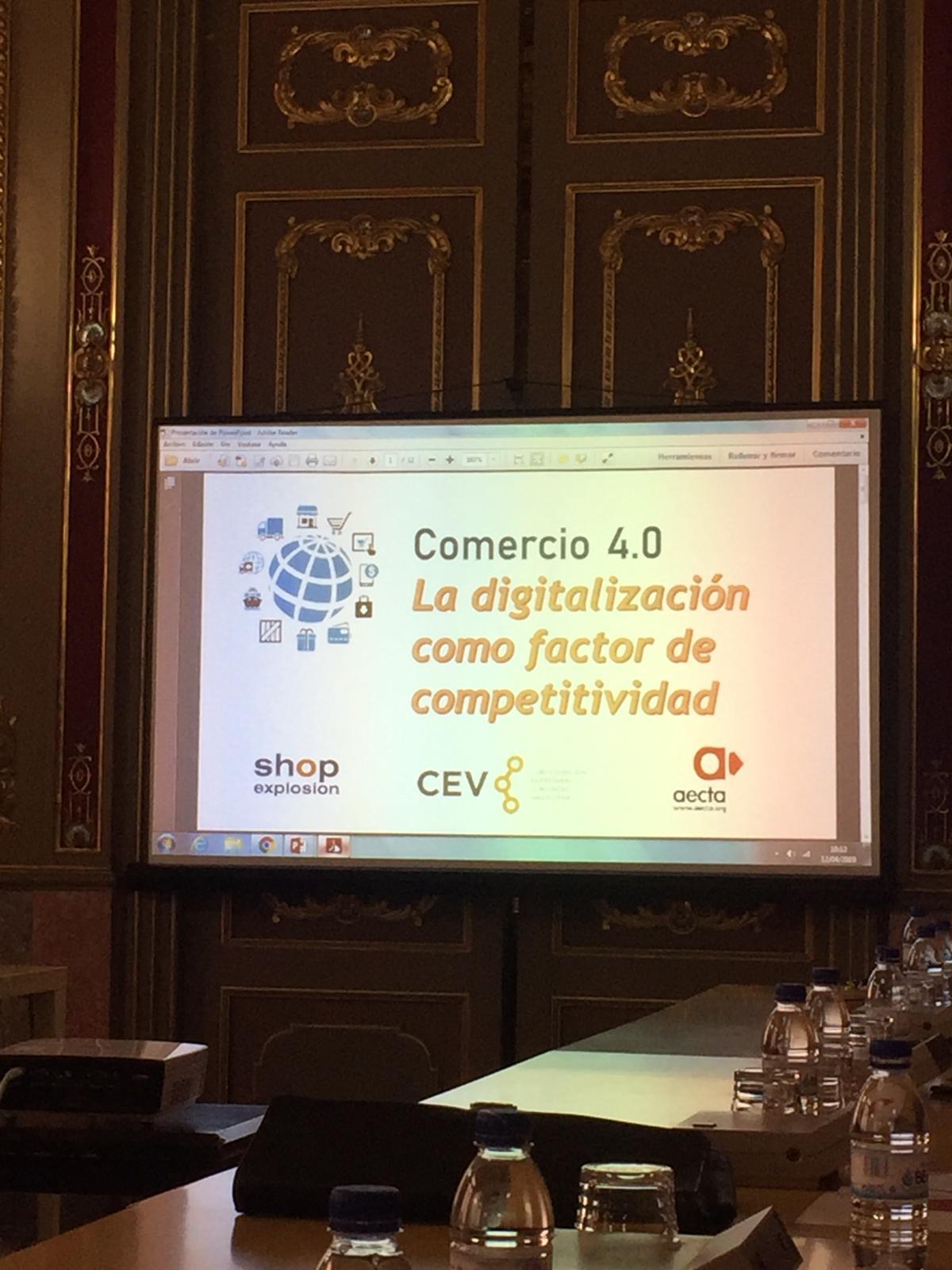 COMERÇ 4.0 LA DIGITALITZACIÓ COM A FACTOR DE COMPETITIVITAT