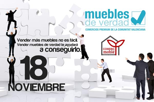 El Próximo 18 de Noviembre en Comercmoble a las 14:00: Técnicas sencillas para vender muebles de verdad hoy!!