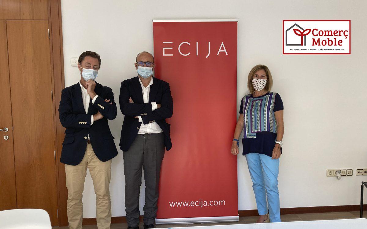 convenio de colaboración con el despacho de abogados Écija