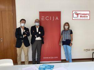 ComerçMoble firma un convenio de colaboración con el despacho de abogados Écija