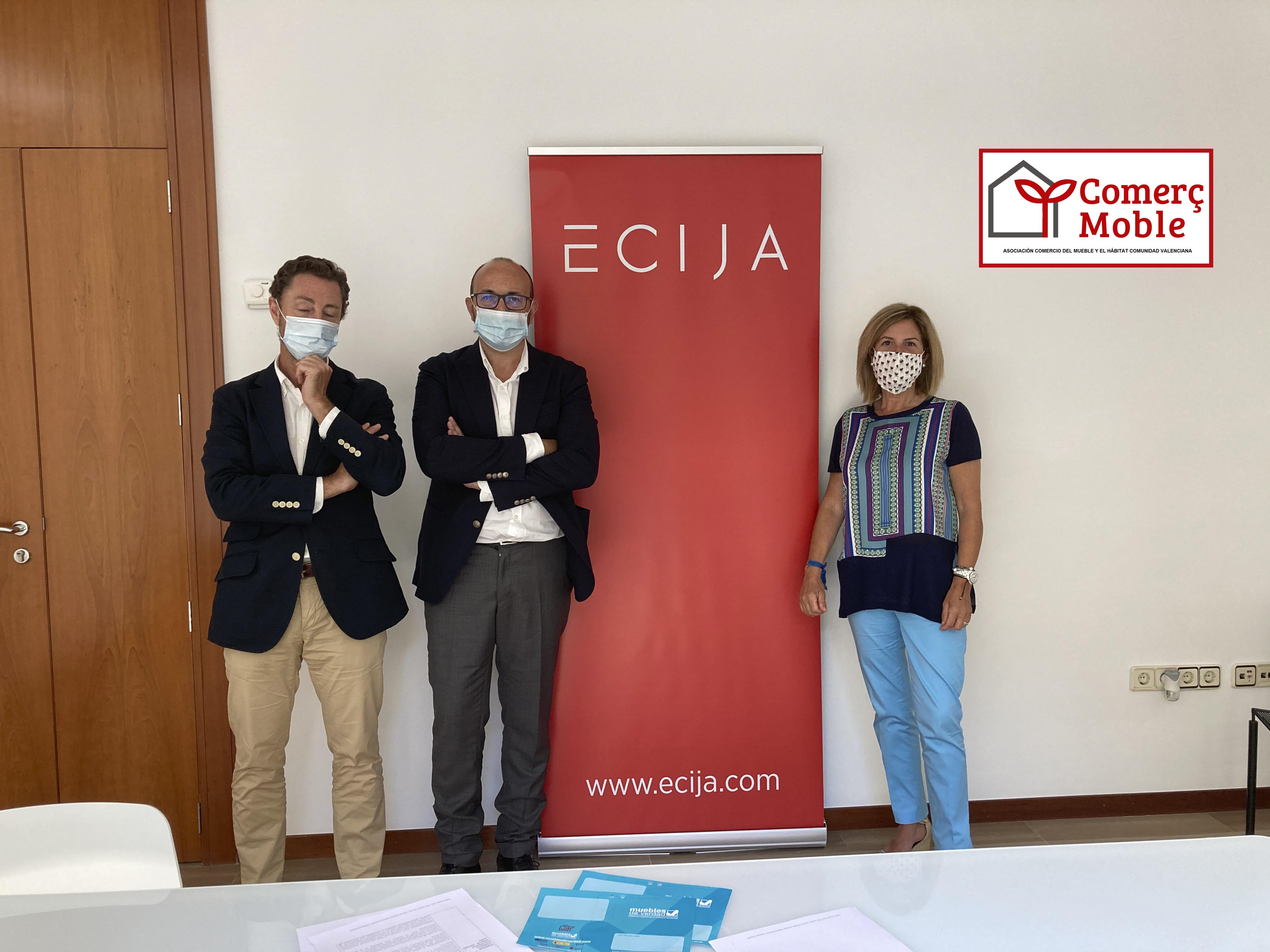 ComerçMoble signa un conveni de col·laboració amb el despatx d'advocats Écija