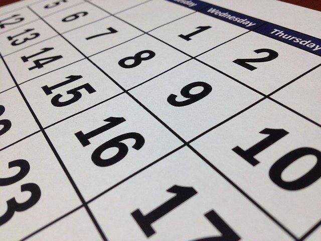 Calendario de fiestas locales 2021